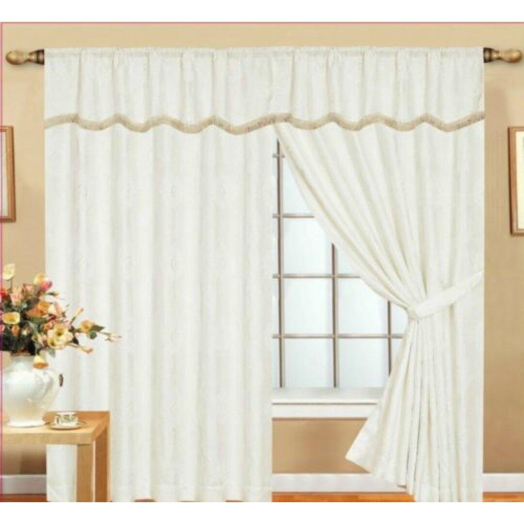Dostie Pencil Pleat Room Darkening Thermal Curtains