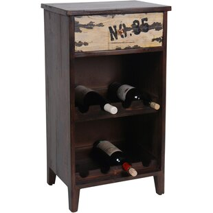 8 Bottle Floor Wine Cabinet by Wilco Home