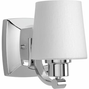 Blocher 1-Light Bath Sconce by Winston Porter