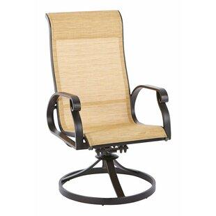 Charlton Home Van Buren Swivel Rocking Chair