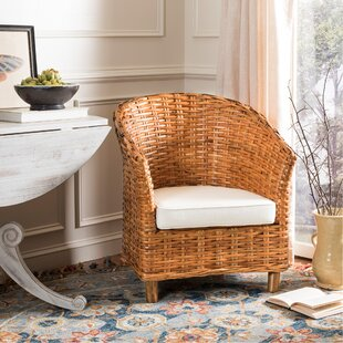 Review Biscayne Park Barrel Chair by Beachcrest Home