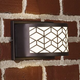 Ivy Bronx Blakely LED Outdoor Sconce with Motion Sensor