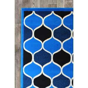 Chateau Royal Blue Area Rug