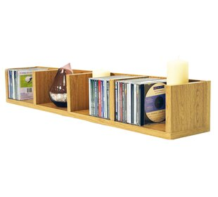 Multimedia Wall Mounted Storage Rack By 17 Stories