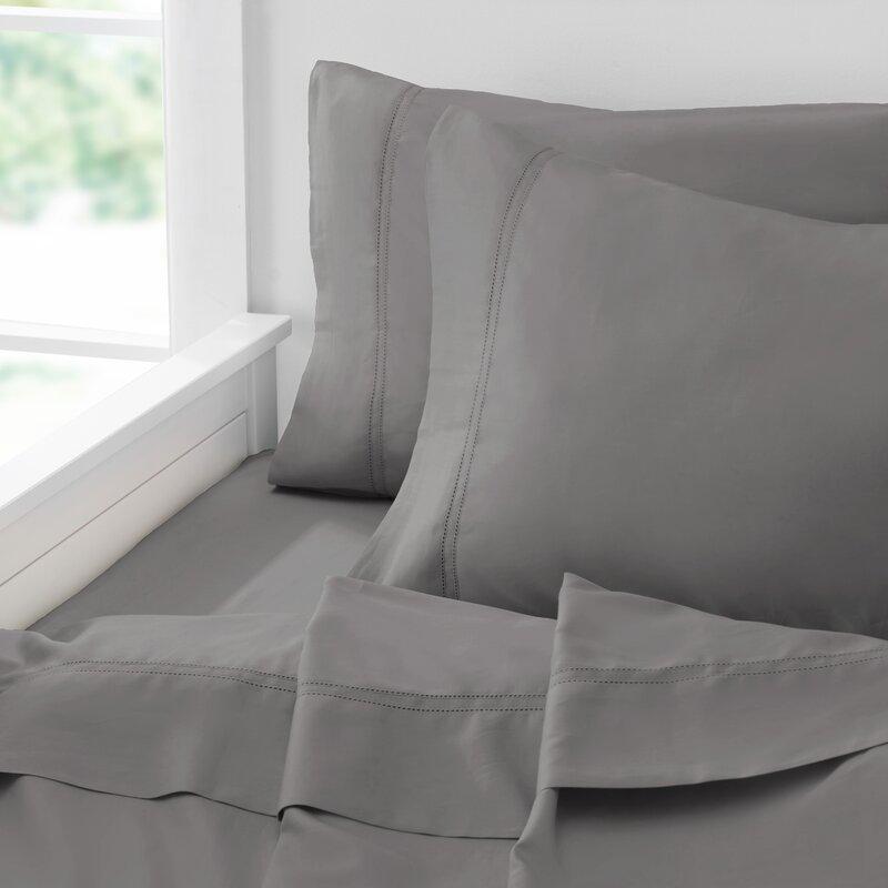 Rb Royal Borough Luxury 400 Thread Count 100 Cotton Sheet Set Reviews Wayfair