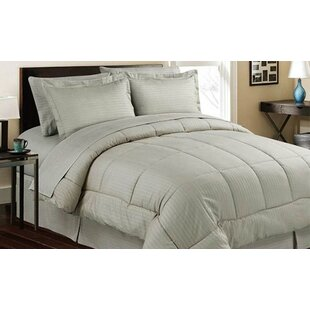 azariah hotel style 8 piece down alternative bed in a bag - Bedding In A Bag
