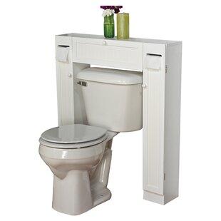 eleanor free standing 34 w x 385 h over the toilet storage - Narrow Bathroom Storage