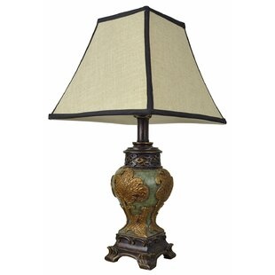 Asian porcelain lamps wayfair kyler vintage asian style 21 table lamp aloadofball Choice Image