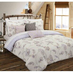 Charlton Home Audubon Painted Jacobean Reversible Comforter Set