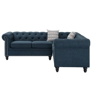 Millry Chesterfield Modern Sectional