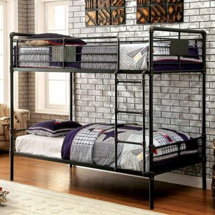 Inexpensive Harpersfield Twin over Twin Bunk Bed ByZoomie Kids
