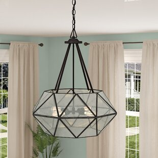 Jacey 4-Light Chandelier by Mistana