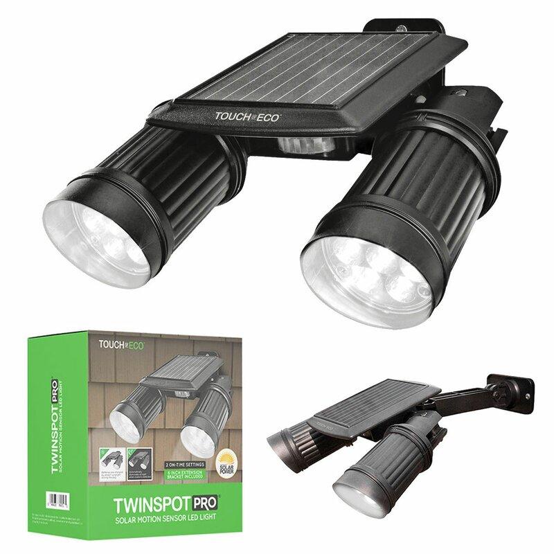 Touch of eco twinspot pro solar 14 light led outdoor spotlight twinspot pro solar 14 light led outdoor spotlight aloadofball Images