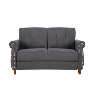 Briscoe 5748 Rolled Arms Loveseat