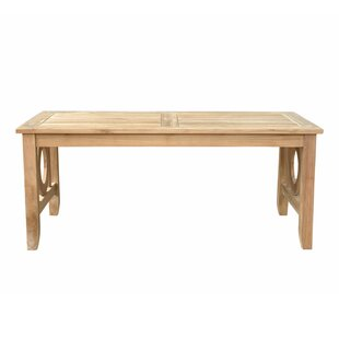 Dustin Regtangular Teak Coffee Table