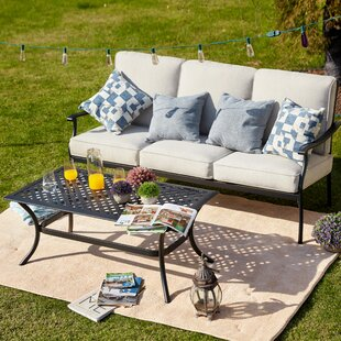 Sasaki 2 Piece Sofa Seating Group with Cushion