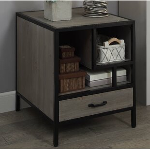 Compare Axminster End Table with Storage by Brayden Studio