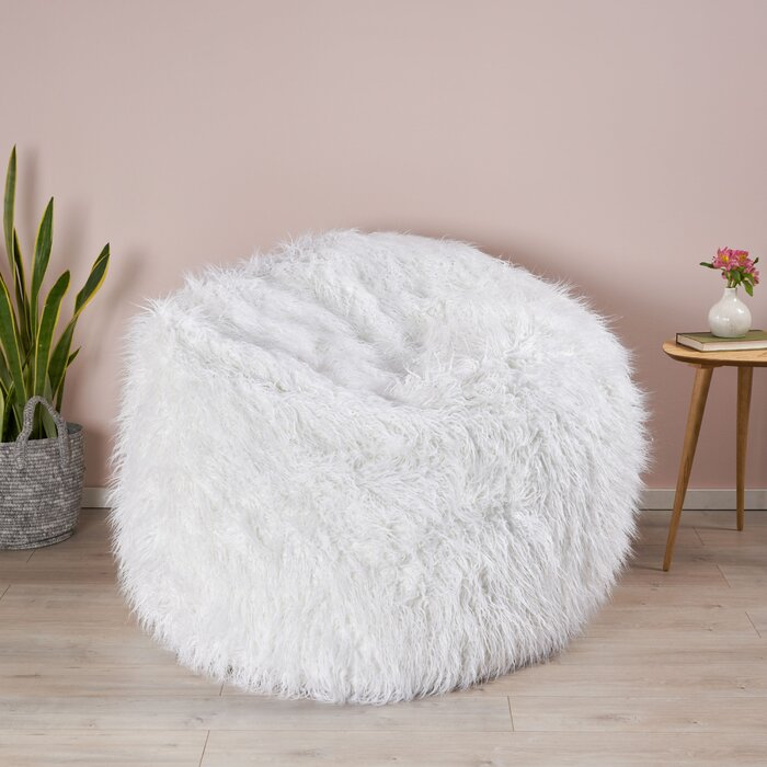 Awe Inspiring Extra Large Furry Bean Bag Chair Inzonedesignstudio Interior Chair Design Inzonedesignstudiocom