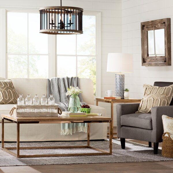 Laurel foundry modern farmhouse living room wayfair - Modern farmhouse living room ...