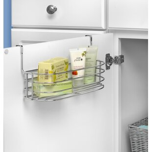 Duo Over The Cabinet Towel Bar And Basket