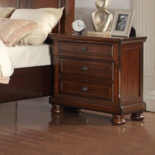 Great Price Foster 3 Drawer Nightstand by Darby Home Co