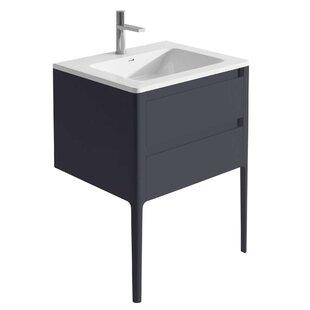 Doyon 600mm Free-Standing Vanity Unit By Ebern Designs
