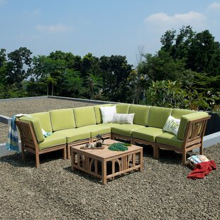 Kensington Patio Sectional with Cushions by Cambridge Casual