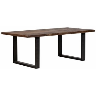Union Rustic Lanclos Iron Dining Table