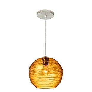 Wave 1-Light Globe Pendant..