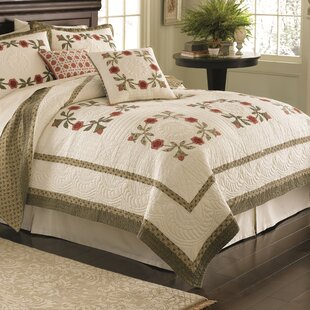 Nostalgia Home Fashions Folk Art Quilt