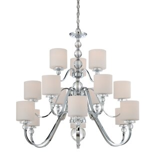 House of Hampton Christena 15-Light Shaded Chandelier