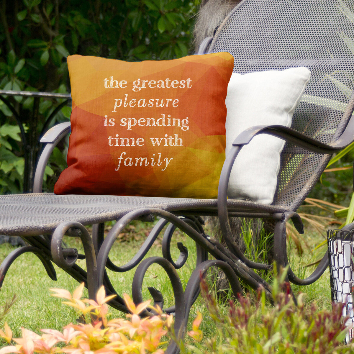East Urban Home Love And Family Indoor Outdoor Throw Pillow Wayfair