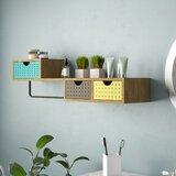 Landau Modern Storage Wall Shelf by Latitude Run