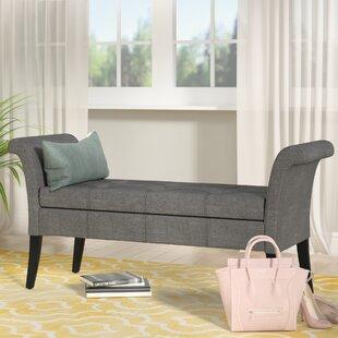 Willa Arlo Interiors Kamila Upholstered Storage Bench