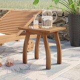 Keegan Solid Wood Side Table