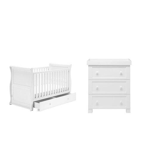 2-tlg. Babyzimmer-Set Tara Harriet Bee   Kinderzimmer > Babymöbel > Komplett-Babyzimmer   Harriet Bee