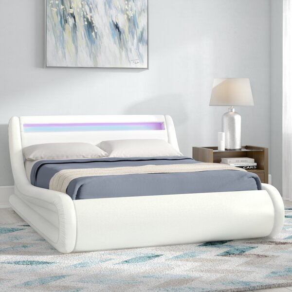 Double Bed With Led Lights Wayfair Co Uk