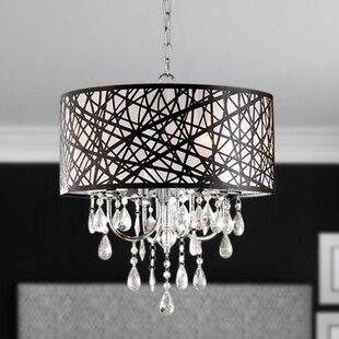 House of Hampton Mchone 4-Light Chandelier