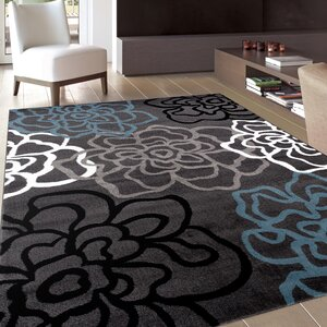 Shiflett Gray Area Rug