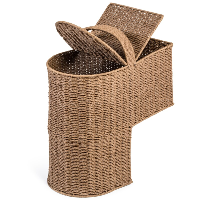 Ordinaire Storage Stair Basket With Handle