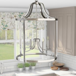 Tessie 4-Light Foyer Lantern Pendant