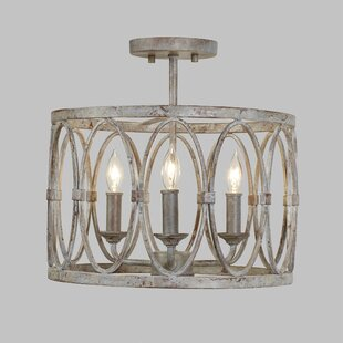 French Country Flush Mount Lighting You