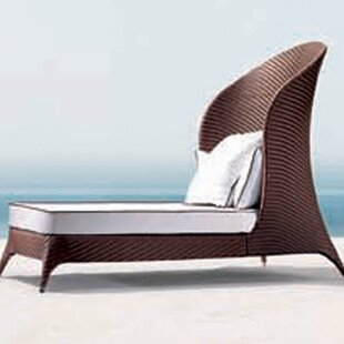 Cavandale Patio Daybed With Cushions By Orren Ellis
