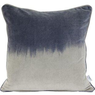 Ruble Velvet 2-Tone Decorative Throw Pillow