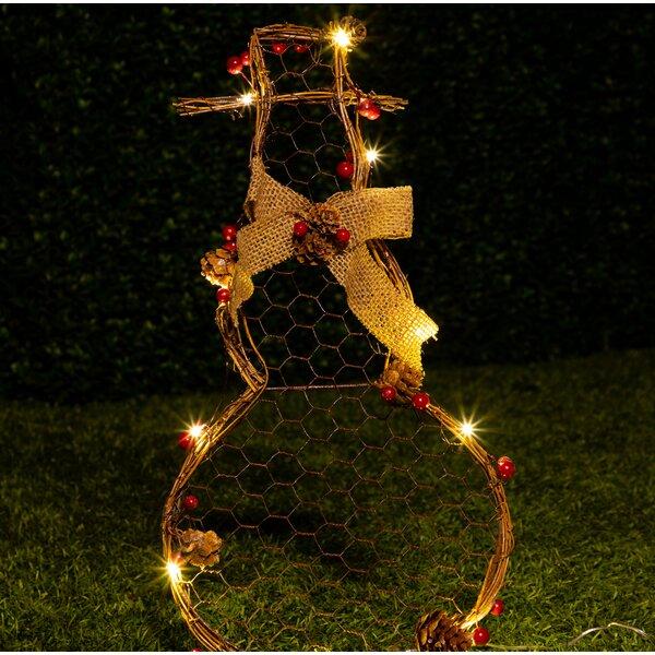 6e49eb92e545e Farmhouse   Rustic Outdoor Christmas Decorations