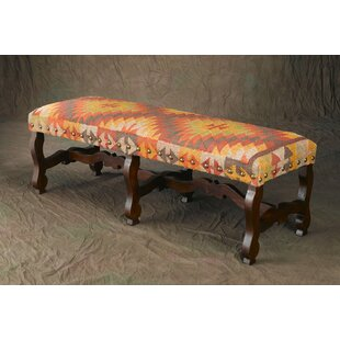 Septimus Linen Bench by Darby Home Co