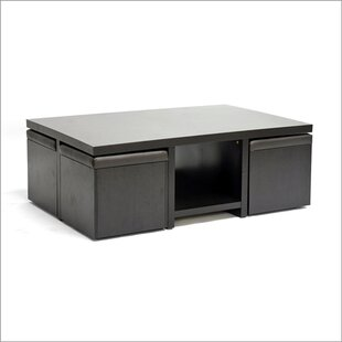 Latitude Run Calla 5 Piece Coffee Table Set