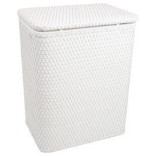Affordable Chelsea Wicker Pattern Laundry Hamper By Redmon for Kids