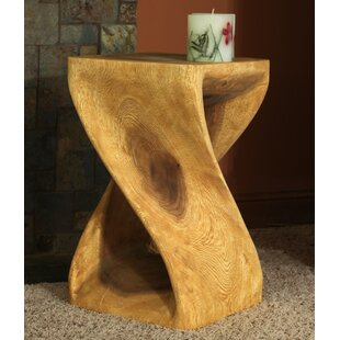 Charleston Twist End Table by World Menagerie Best #1