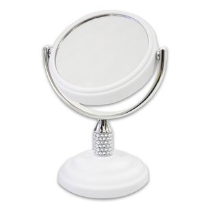 Sweet Home Collection Galvin Mini Dual Sided Makeup / Shaving Mirror